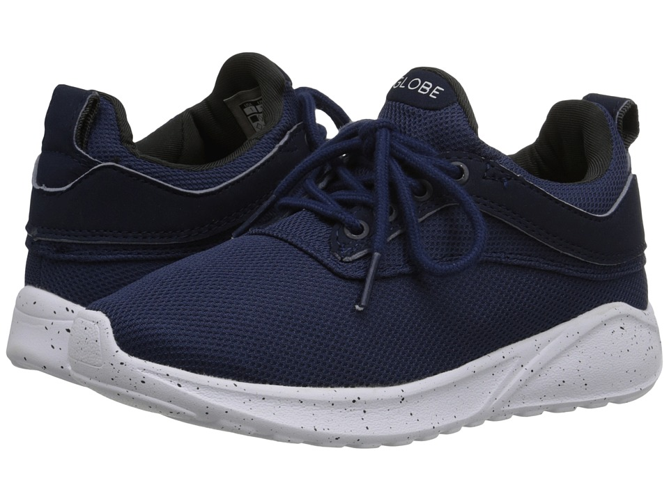 Globe Kids - Roam Lyte (Little Kid/Big Kid) (Navy/Grey) Boy's Shoes