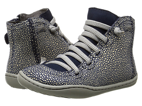 Camper Kids - Peu Cami 90085 (Toddler) (Navy) Girl's Shoes
