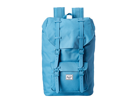 Herschel Supply Co. - Little America Mid-Volume (Shallow Sea/Shallow Sea Rubber) Backpack Bags