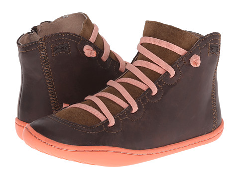 Camper Kids - Peu Cami 90085 (Little Kid) (Brown) Girl's Shoes