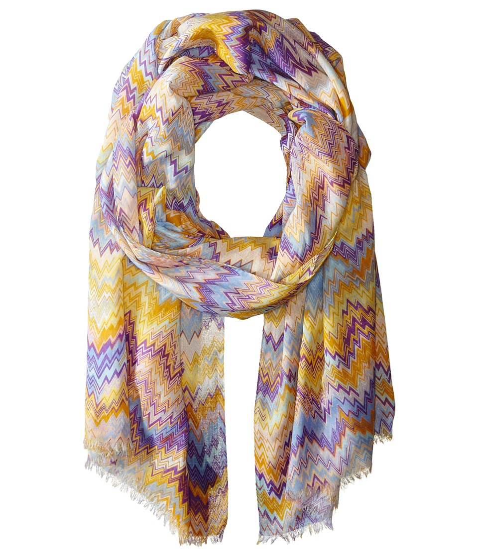 Missoni - SA73COD4829 (Yellow/Blue) Scarves
