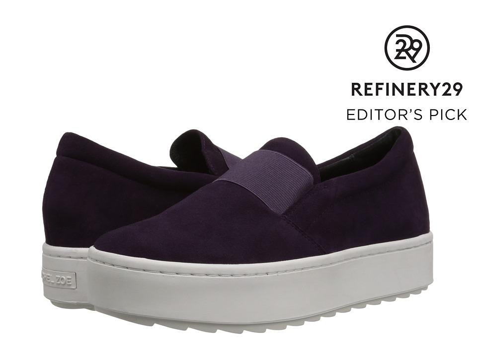 Rachel Zoe - Reena (Damson Purple/Suede) Women's Slip on Shoes