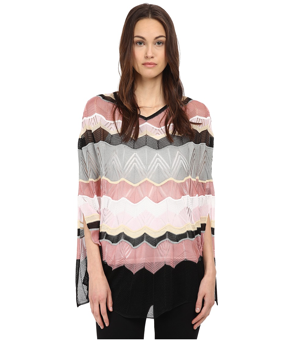 Missoni - PO74VID4865 (Black/Pink) Women's Sweater
