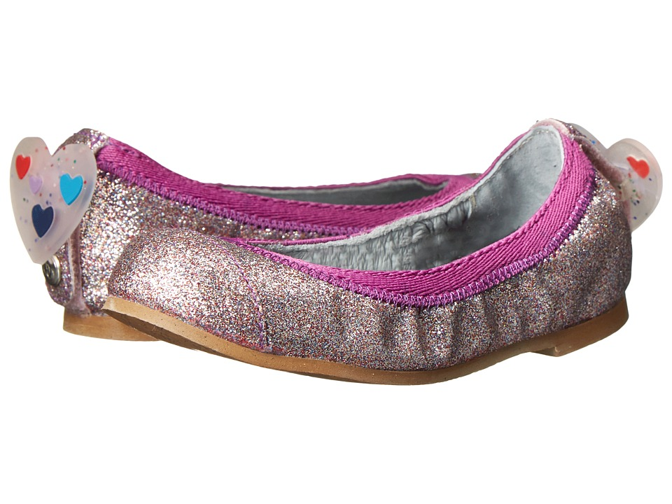Bumbums & Baubles - Anna (Toddler/Little Kid/Big Kid) (Rainbow Glitter) Girls Shoes