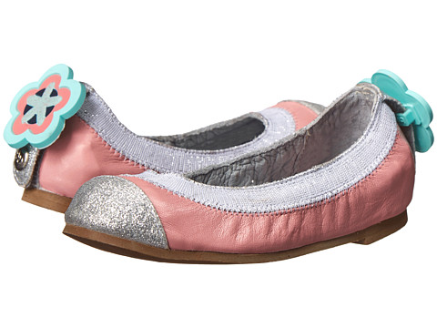 Bumbums & Baubles - Anna (Toddler/Little Kid/Big Kid) (Pink) Girls Shoes