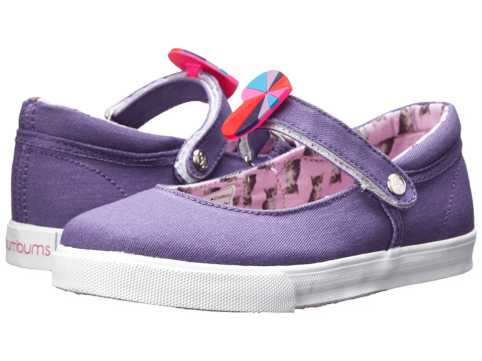 Bumbums & Baubles - Olivia (Toddler/Little Kid/Big Kid) (Purple Kitty) Girl