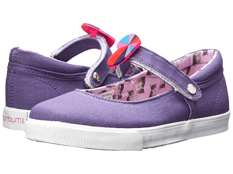 Bumbums & Baubles - Olivia (Toddler/Little Kid/Big Kid) (Purple Kitty) Girl's Shoes
