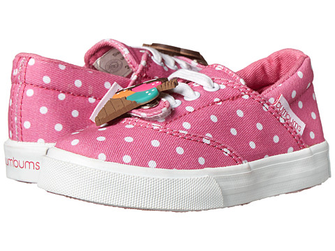 Bumbums & Baubles - Spencer (Toddler/Little Kid/Big Kid) (Pink Polka Dot) Girl's Shoes