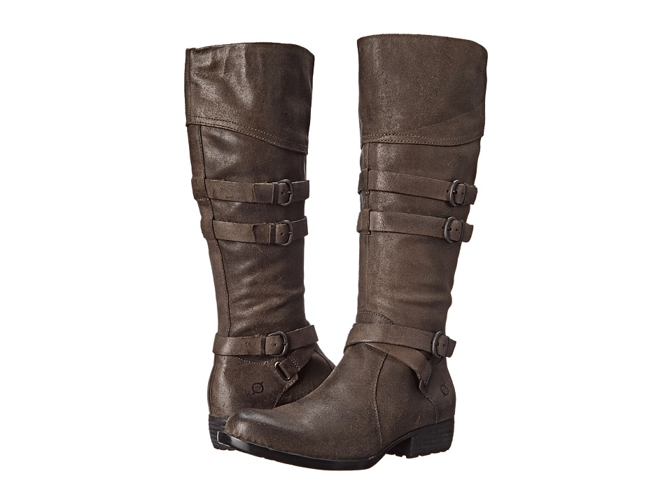 Born - Odom (Peltro/Grey Oiled Suede) Women's Boots