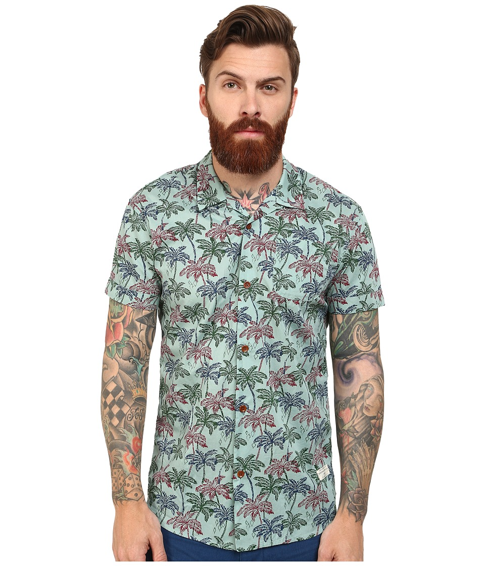 Scotch & Soda - Short Sleeve Hawaii Print Shirt (Multi) Men's Clothing