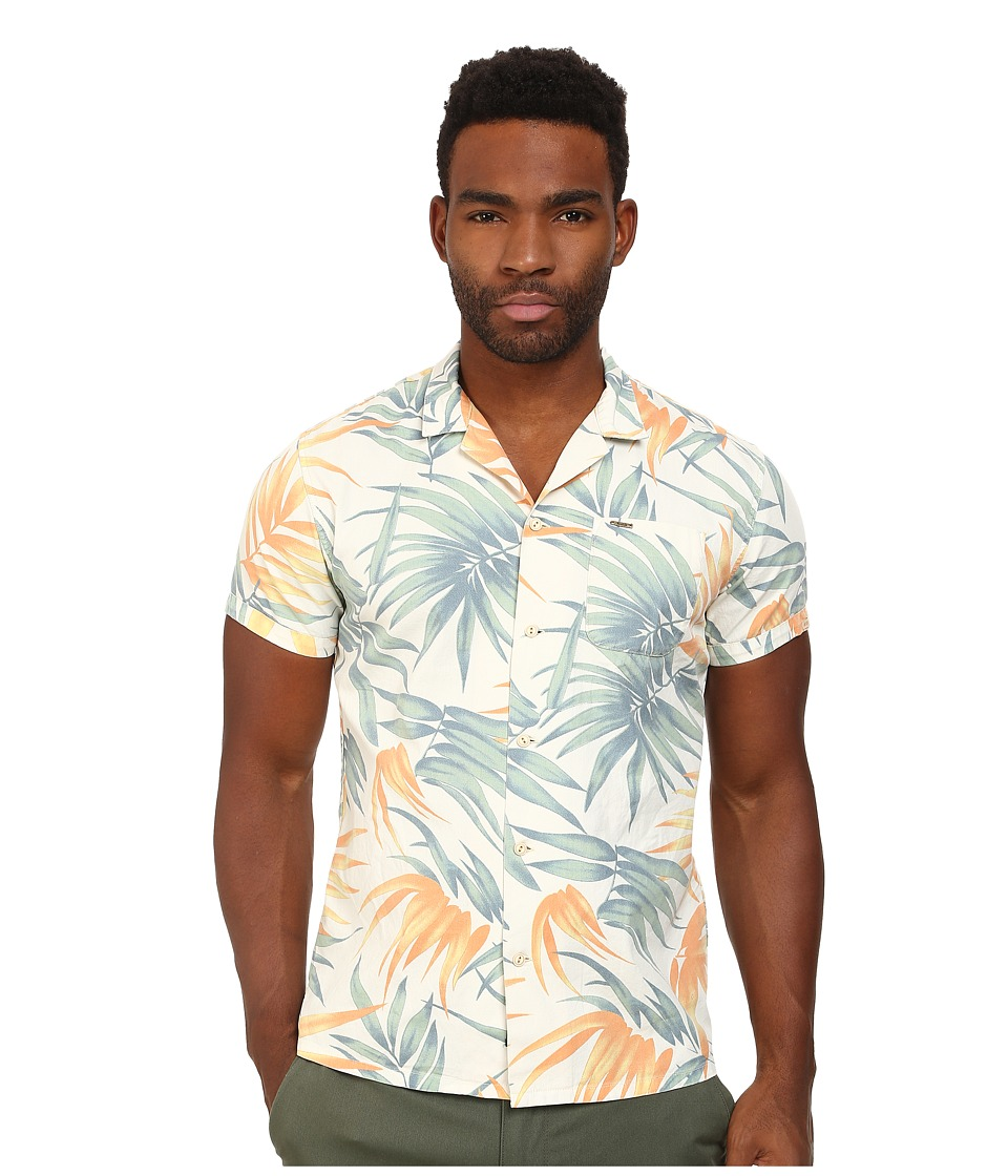 Scotch & Soda - Retro Gentleman Short Sleeve Shirt (Multi) Men