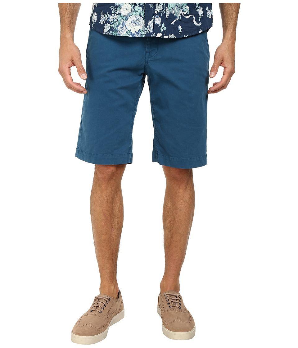 Moods of Norway - Peder Sunde Shorts 151155 (Majolica Blue) Men's Shorts