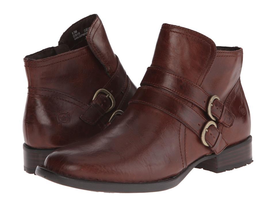 Born - Pirlo (Dark Tan Full Grain Leather) Women