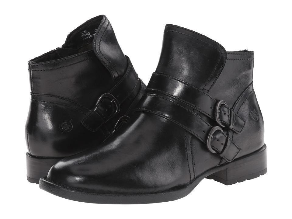 Born - Pirlo (Black Full Grain Leather) Women