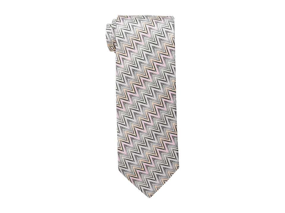 Missoni - CRB8SEU4704 (Grey/Pink) Ties