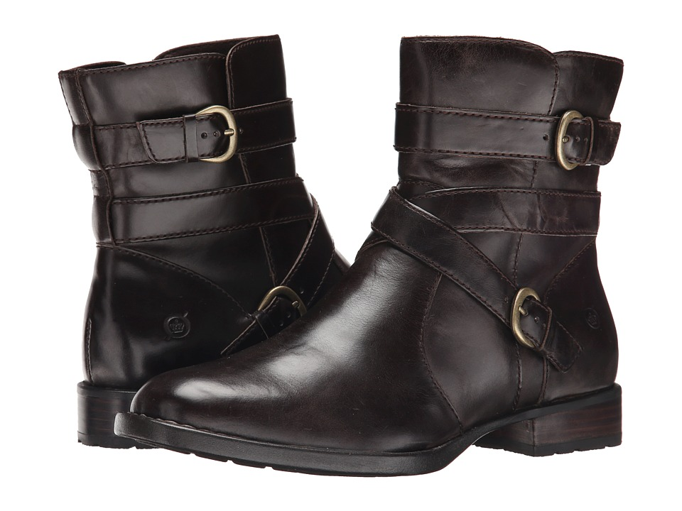 Born - McMillan (Mushroom/Dark Brown Full Grain Leather) Women's Boots
