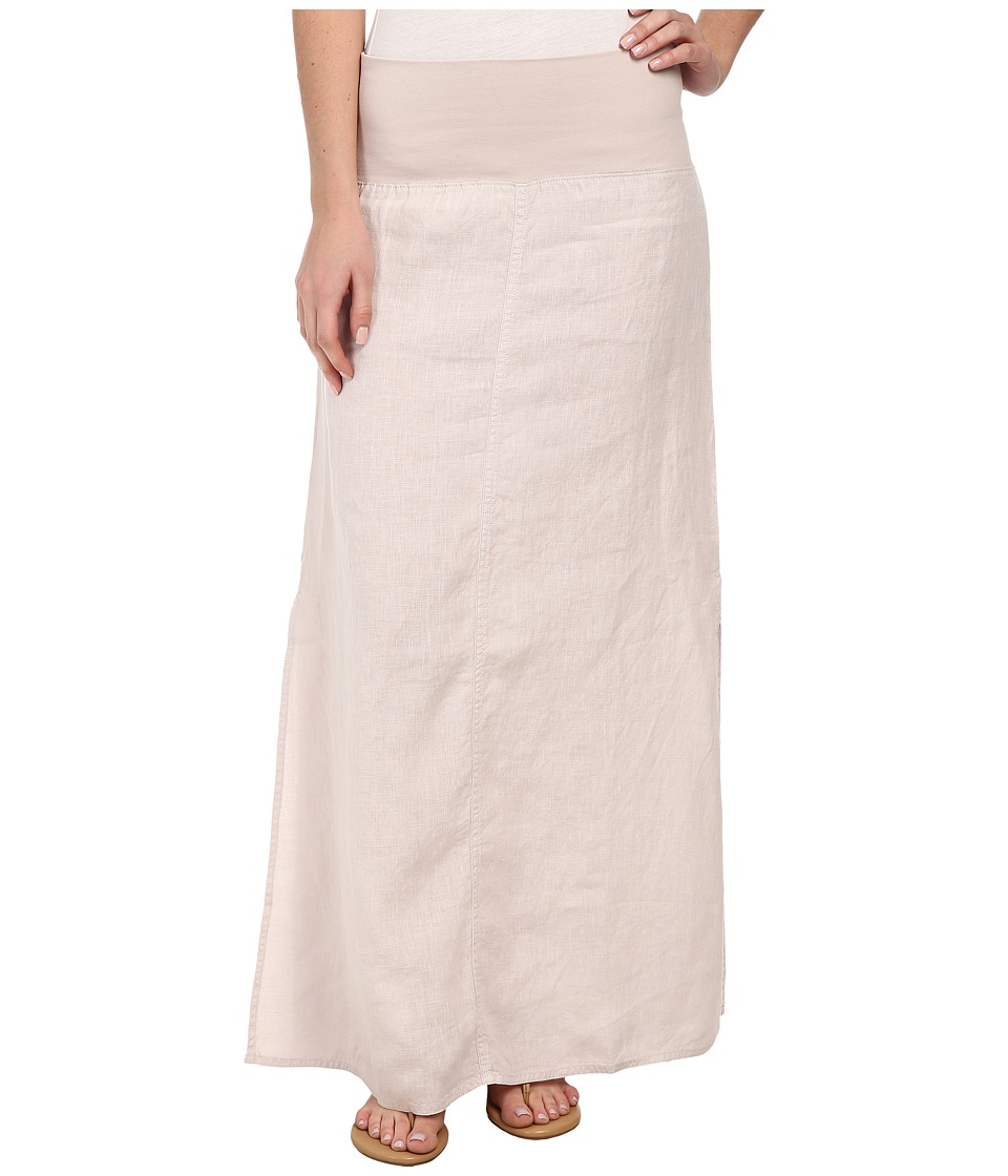 Dylan by True Grit - Slit Maxi Skirt (Ice Grey) Women's Skirt
