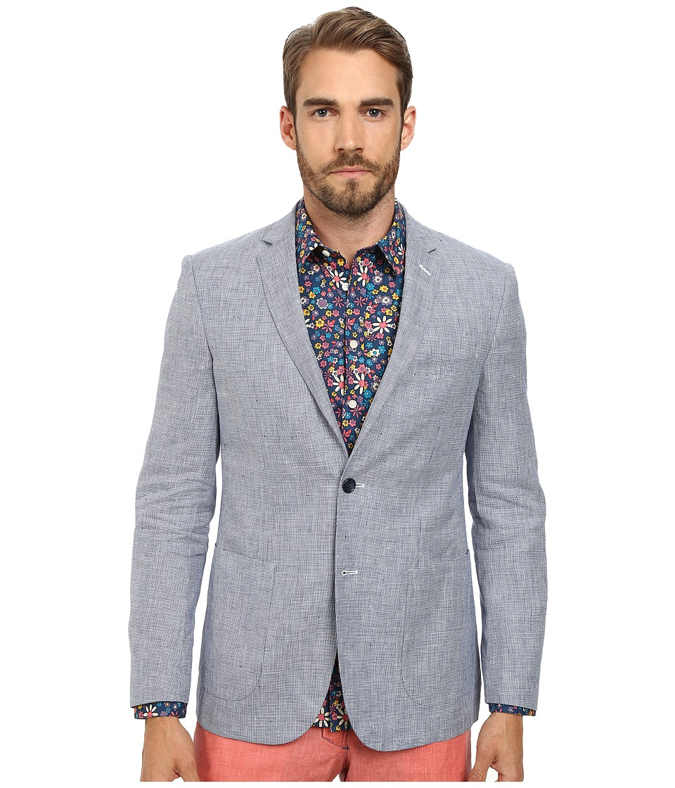 Moods of Norway - Jonas Tonning Suit Jacket 151374 (Mid Blue) Men's Jacket