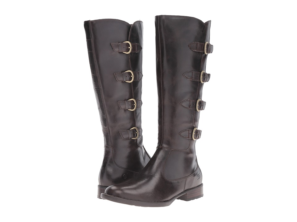 Born Cuatros (Mushroom/Dark Brown Full Grain Leather) Women