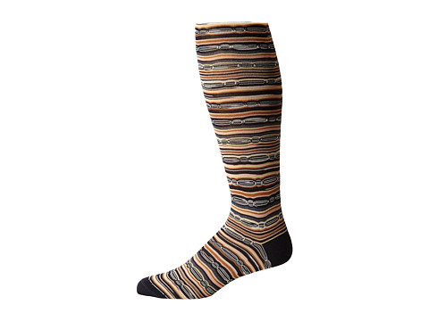 Missoni - GM00CMU4955 (Grey/Beige) Men's Knee High Socks Shoes