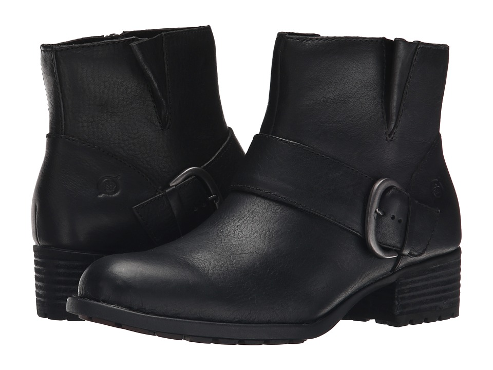 Born Liona (Black Full Grain Leather) Women