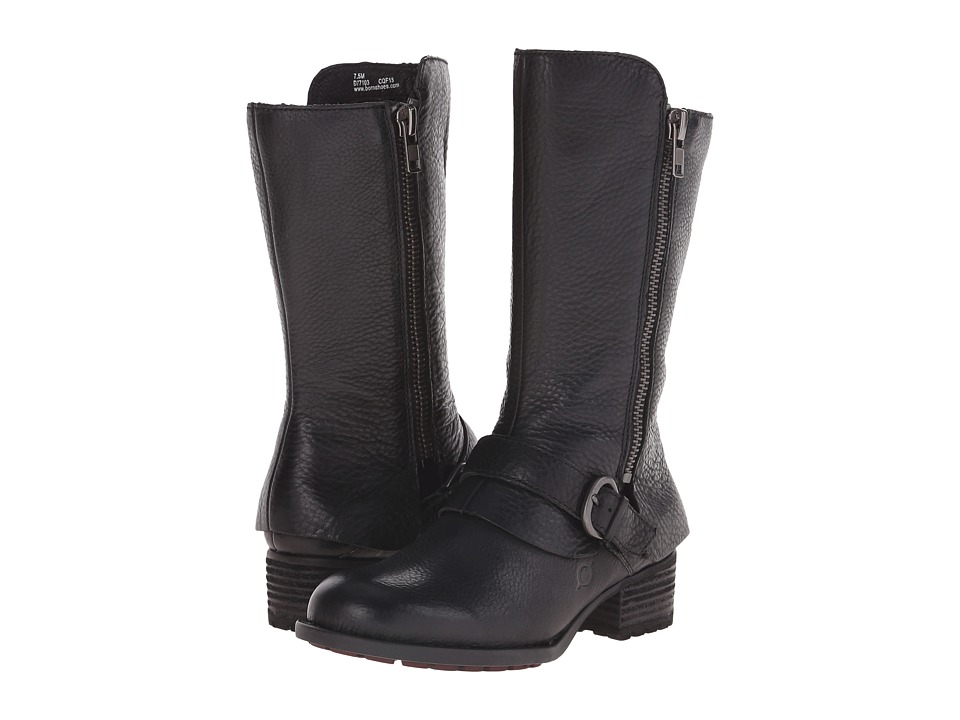 Born - Aubra (Black Full Grain Leather) Women