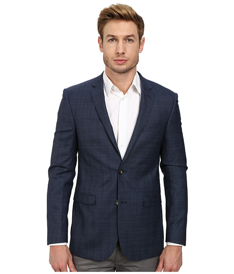 Moods of Norway - Stein Tonning Suit Jacket 151237 (Mid Blue) Men's Jacket
