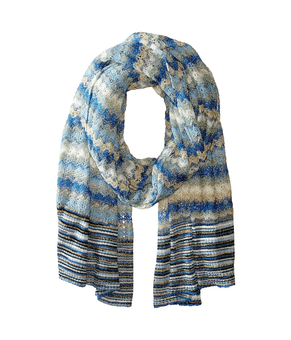 Missoni - SA73CMD4843 (Blue) Scarves