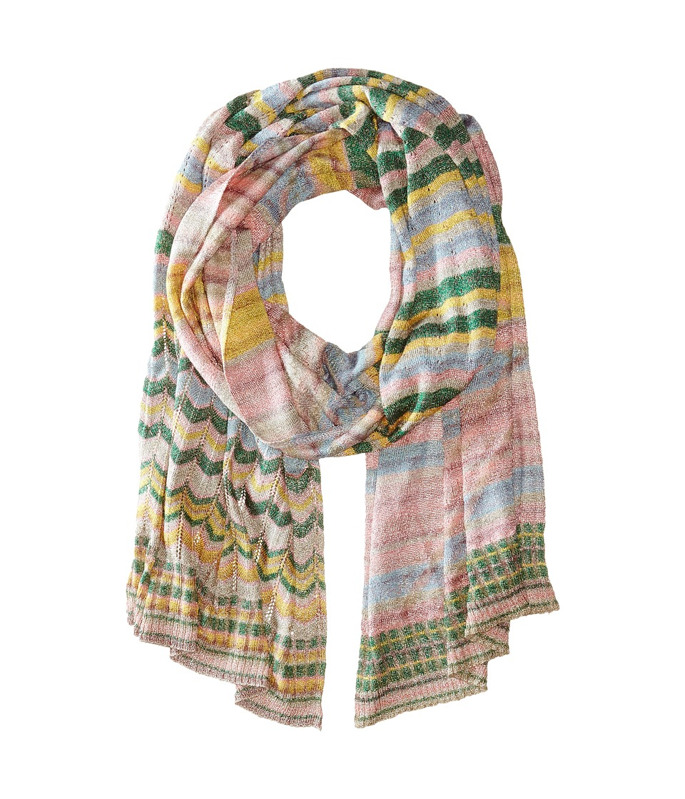 Missoni - SC36CMD4841 (Green Yellow) Scarves