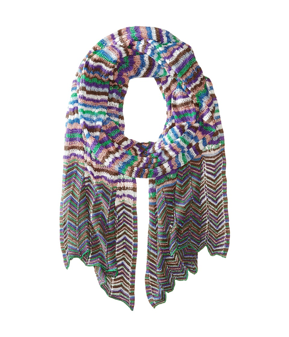 Missoni - SC36CMD4838 (Multi Green) Scarves
