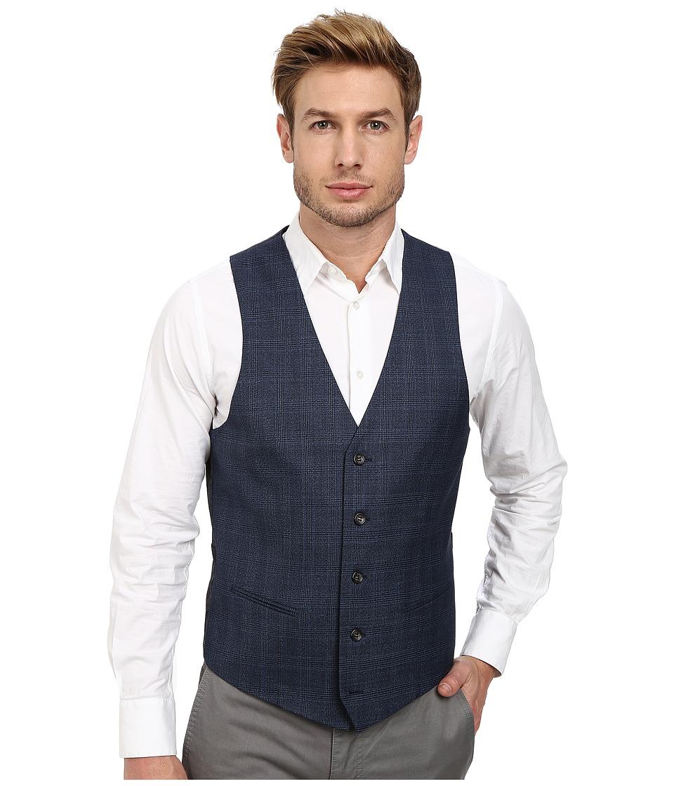 Moods of Norway - Stein Victor Suit Vest (Mid Blue) Men's Vest