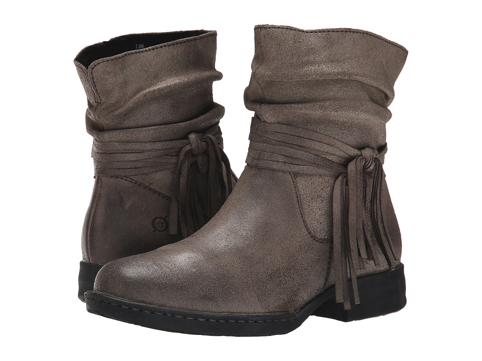 Born - Cross (Peltro/Grey Oiled Suede) Women's Boots