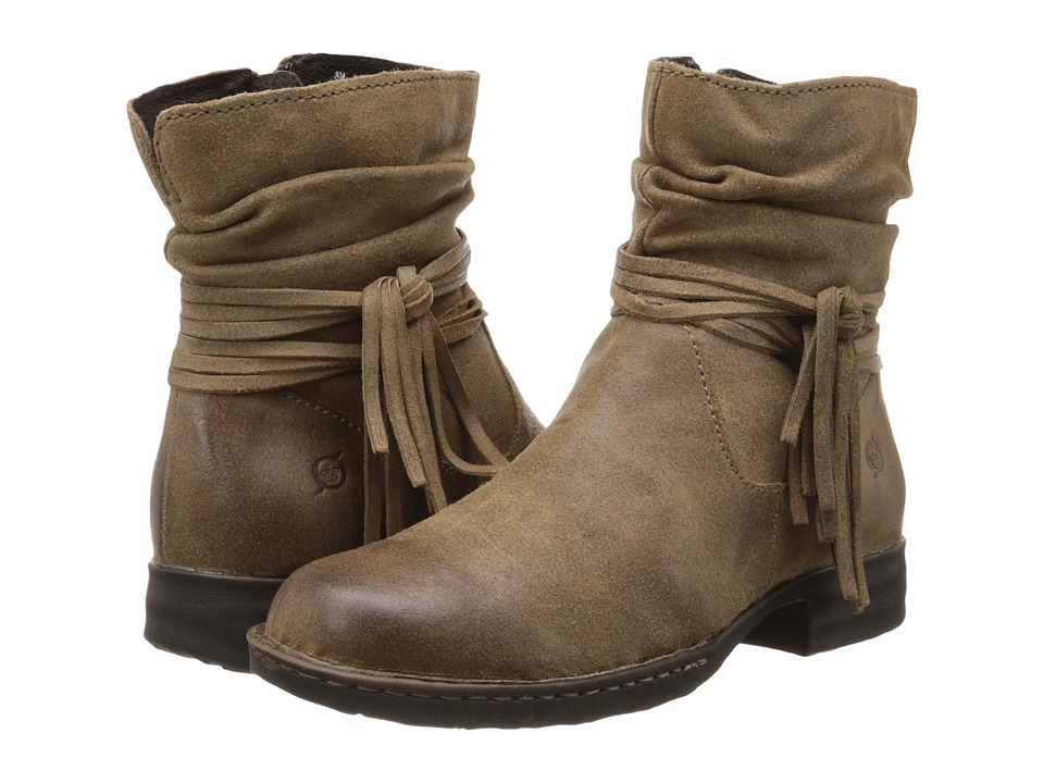Born - Cross (Taupe Oiled Suede) Women's Boots