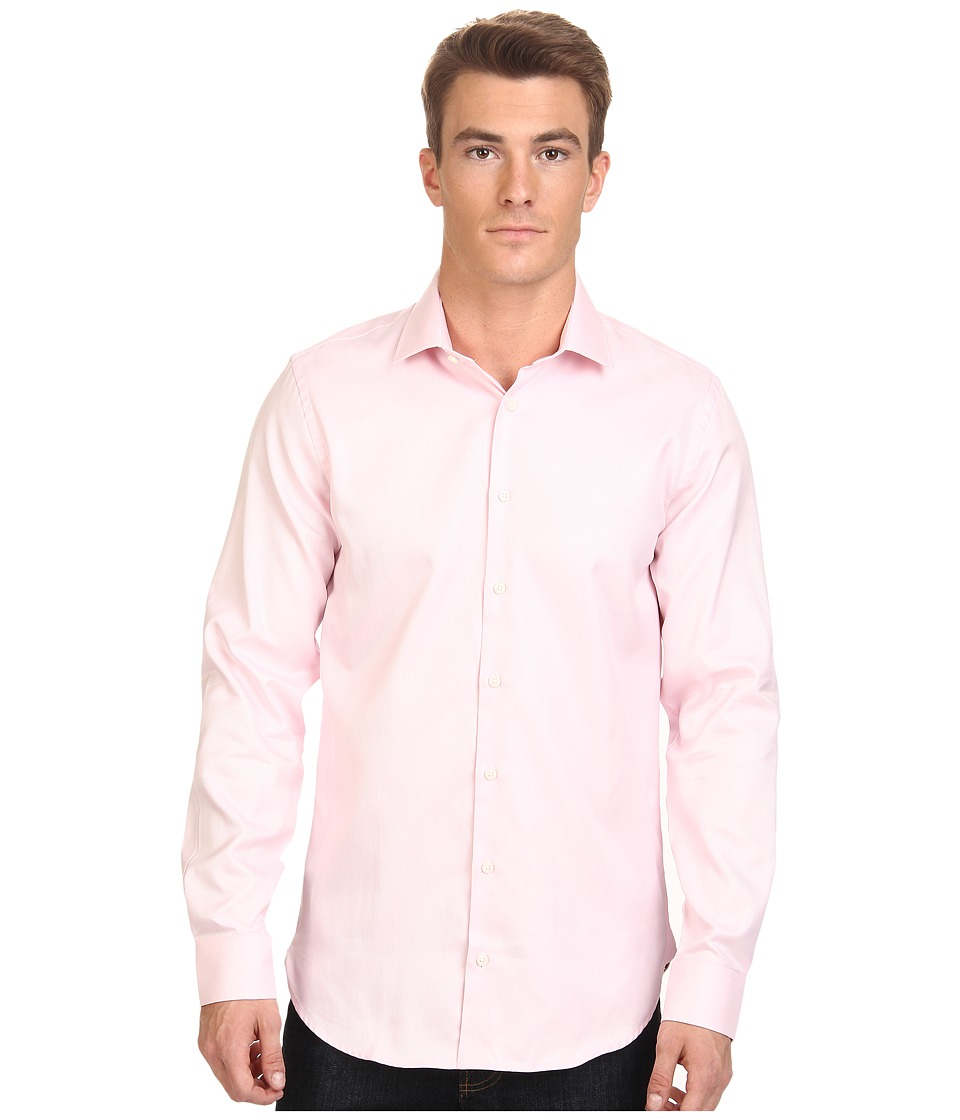 Moods of Norway - Kristian Vik Long Collar Shirt 151421 (Medium Pink) Men's Long Sleeve Button Up