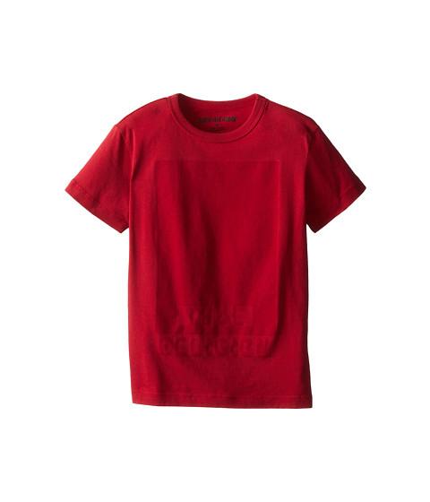 True Religion Kids - Resist Print Logo Tee (Little Kids) (True Red) Boy