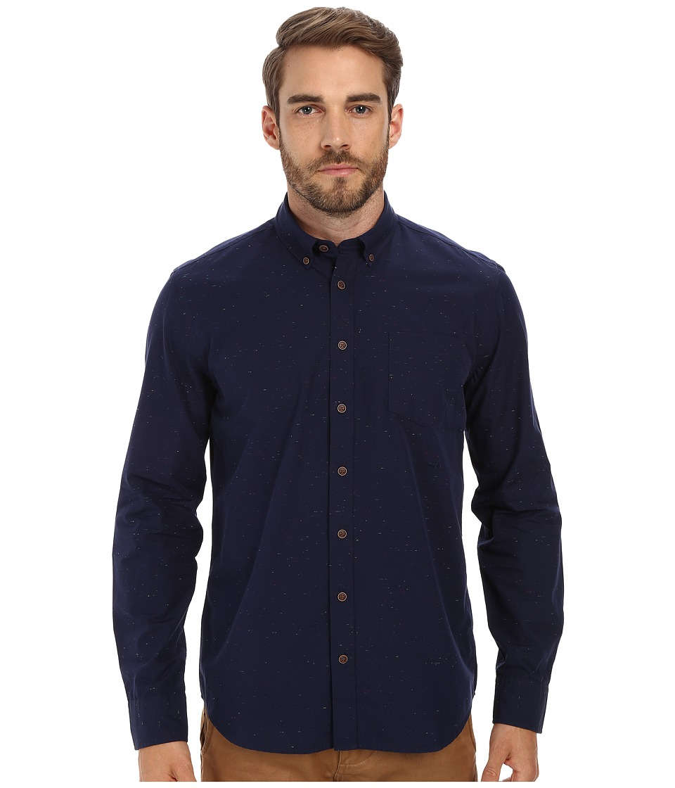 Moods of Norway - Anders Vik Long Collar Shirt 151108 (Dark Navy) Men