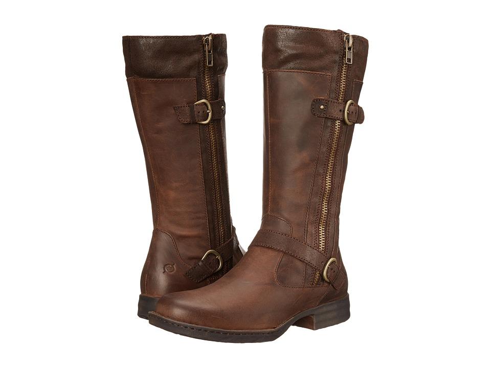Born - Kendell (Boardwalk/Castagno/Dark Brown Full Grain Leather) Women