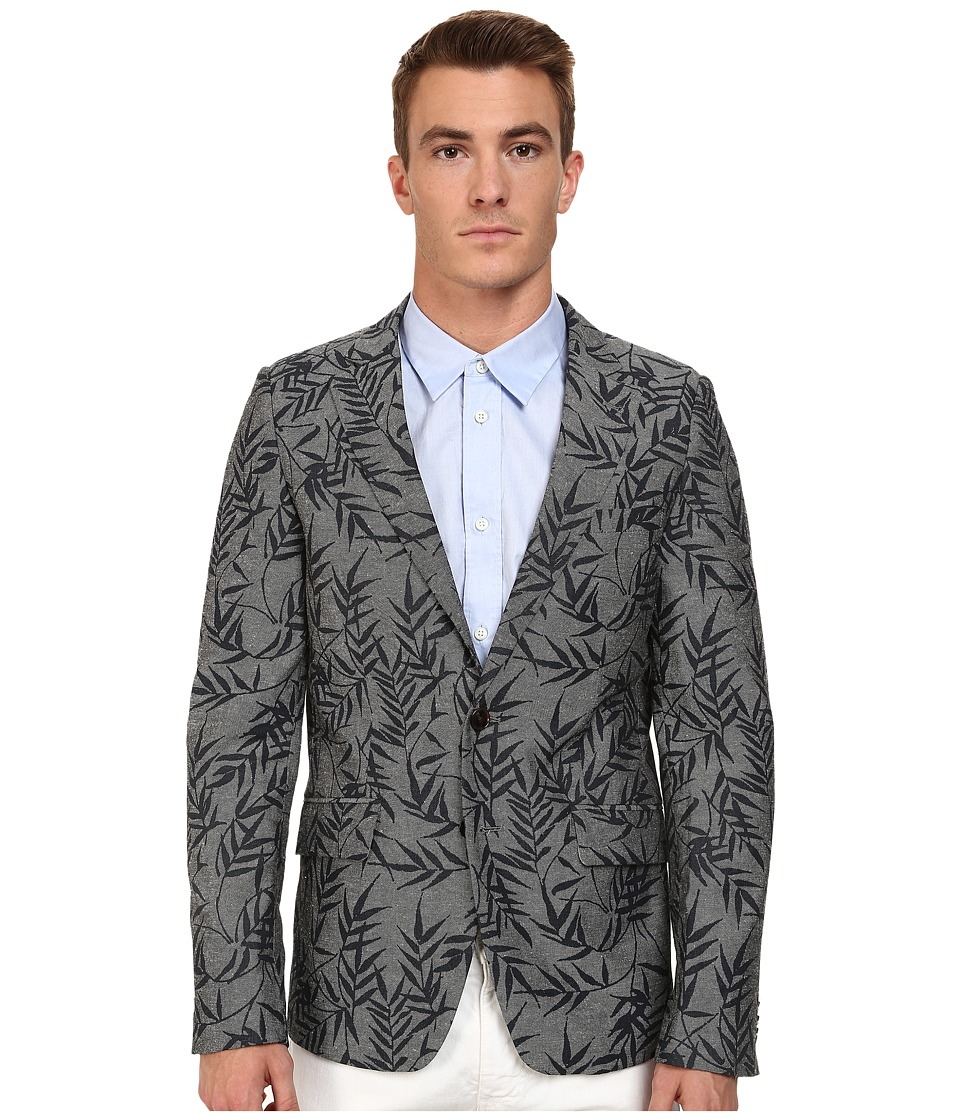 Scotch & Soda - Lightweight Summer Blazer (Grey/Navy) Men's Jacket