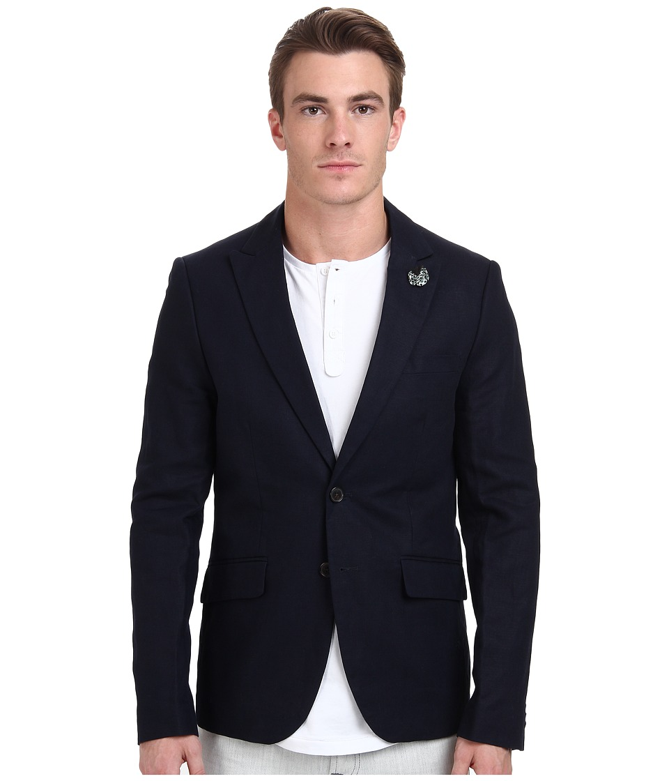 Scotch & Soda - Slub Summer Dress Blazer (Night) Men's Jacket