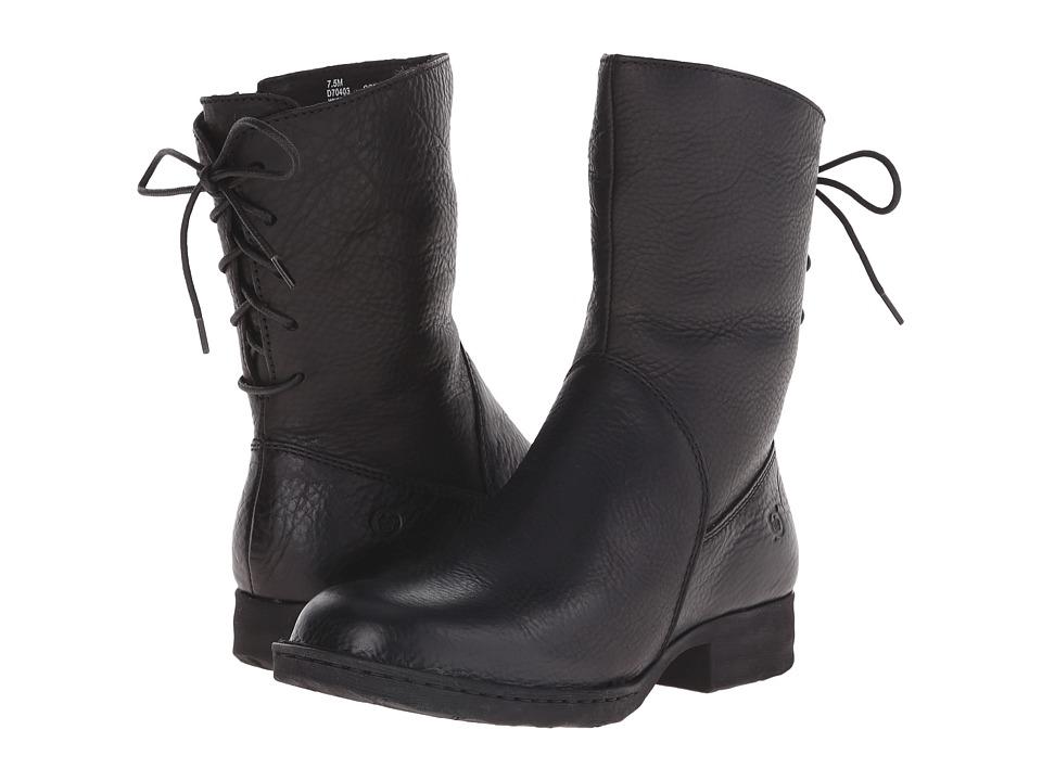 Born Kierra (Black Full Grain Leather) Women