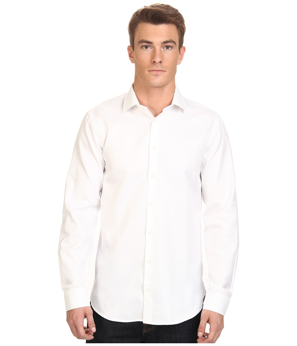 Moods of Norway - Kristian Vik Long Collar Shirt 151421 (White) Men