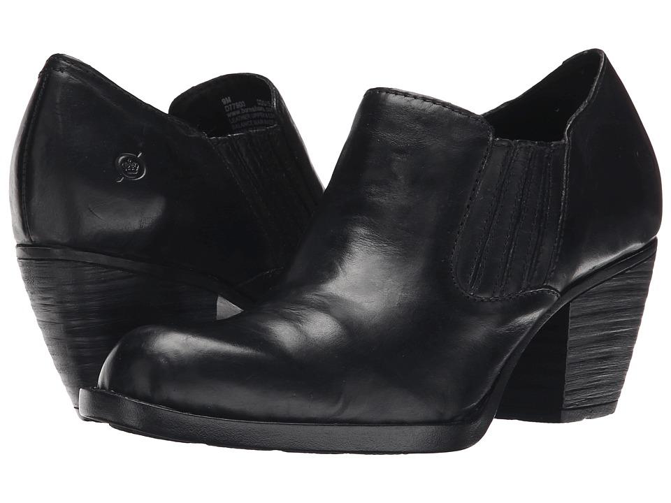 Born - Oliva (Black Full Grain Leather) High Heels