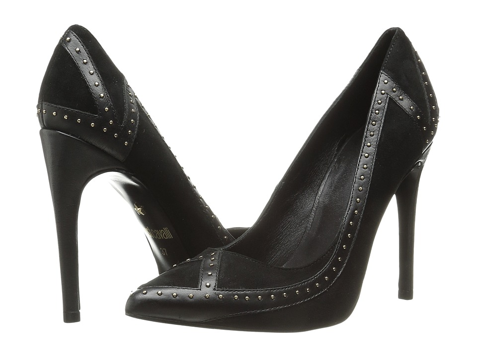Just Cavalli - Studded Pump (Black) High Heels