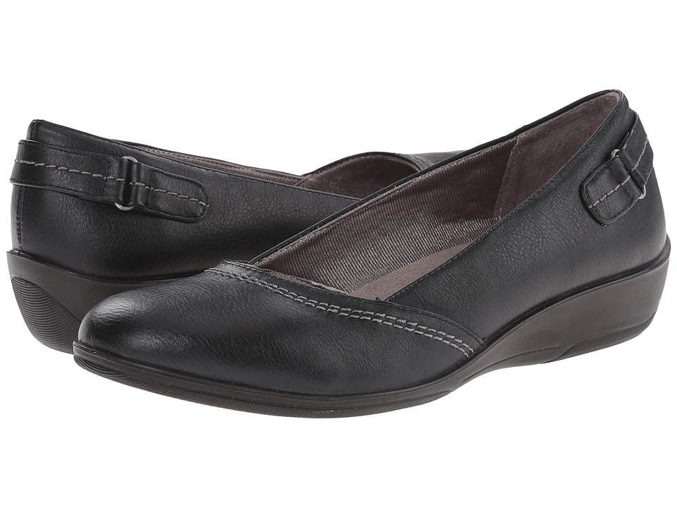 LifeStride - Intellect (Black Mesh Elastic) Women's Shoes