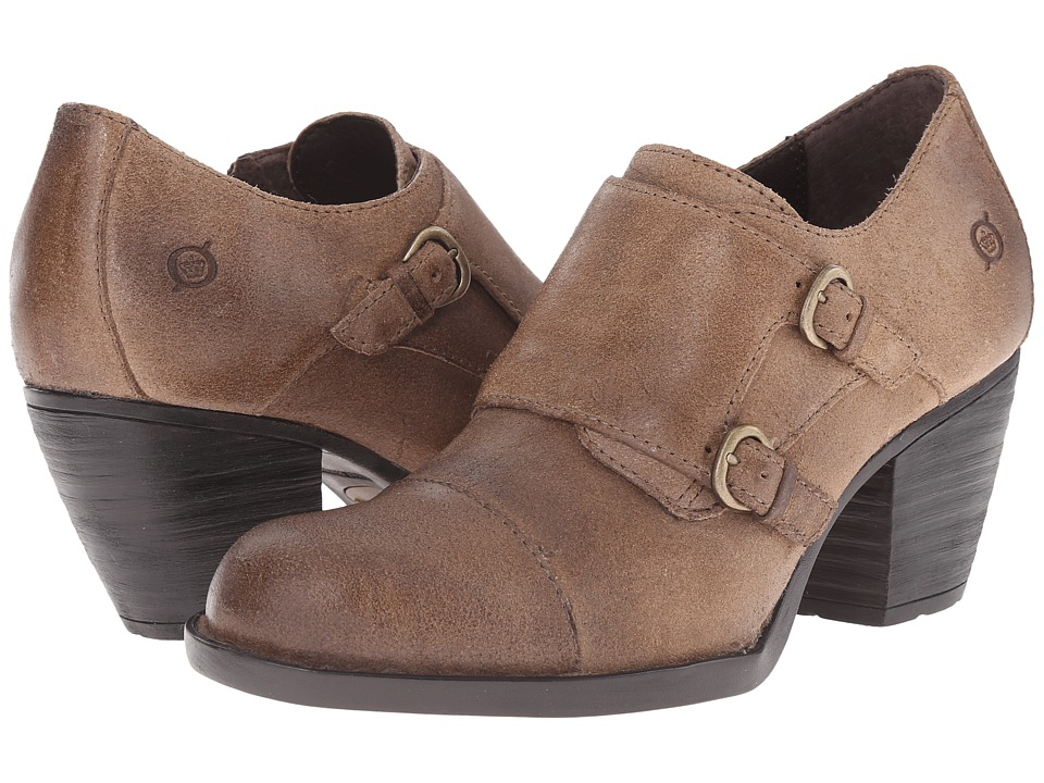 Born - Davis (Taupe Oiled Suede) High Heels
