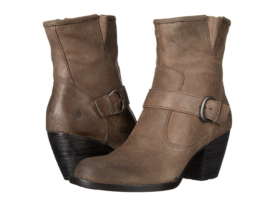 Born - Palmer (Peltro/Grey Oiled Suede) Women's Boots