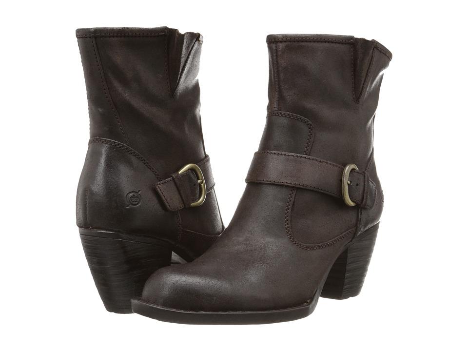 Born - Palmer (Castagno Oiled Suede) Women's Boots