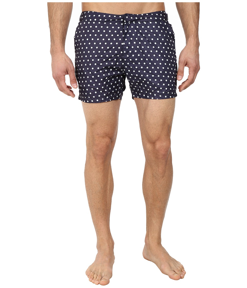 Scotch & Soda - Polka Dot Nylon Swimshorts (Blue) Men