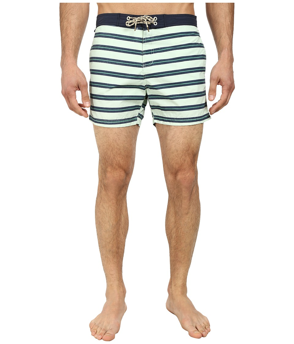 Scotch & Soda - Stripe Printed Swimshorts (Multi) Men's Swimwear
