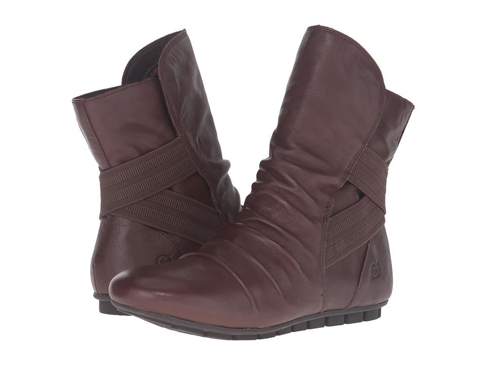 Born - Dulcie (Castagno/Dark Brown Full Grain Leather) Women